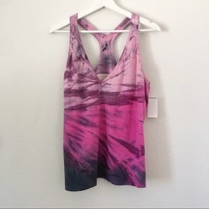 NWT Hard Tail Tie-Dye Print Workout Top Sz 3X